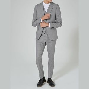 Topman Topshop Skinny Fit Suit and Pants Set M